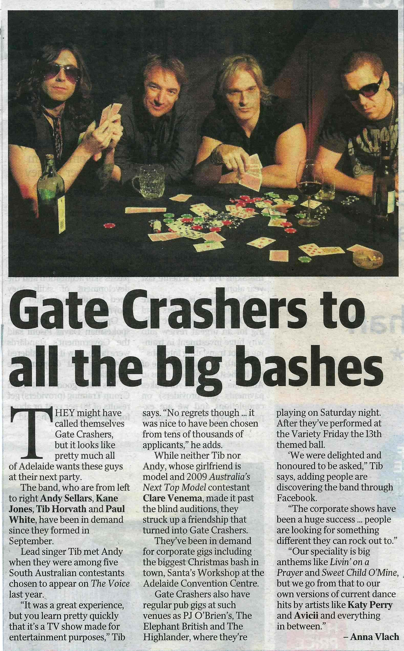 Gate Crashers Editorial