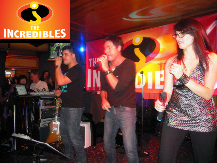 The Incredibles Adelaide Wedding Cover band