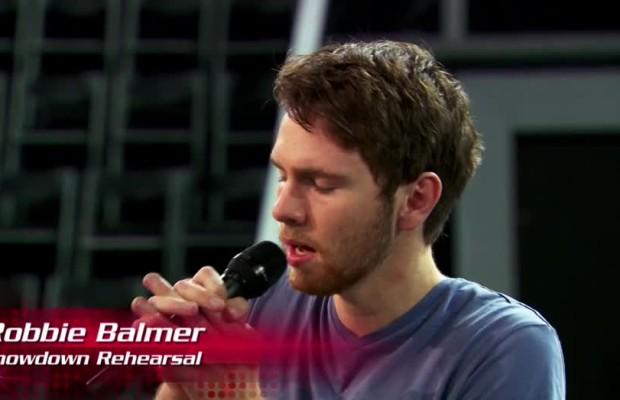 Robbie Balmer The Voice